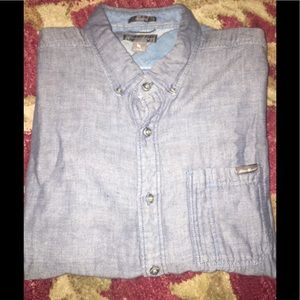 Eddie Bauer denim button down